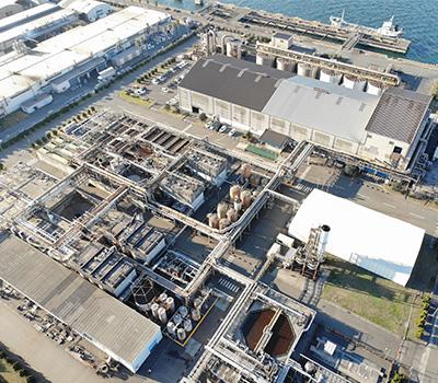 廃液処理施設ひびき工場