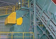 硬質・軟質の専用破砕機を設置