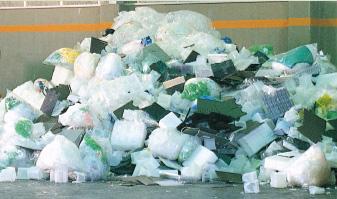 廃プラスチックを回収・運搬