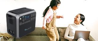 家庭用ポータブル蓄電池